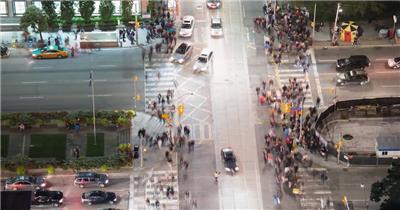 延时摄影-加拿大延时摄影风光风景视频素材