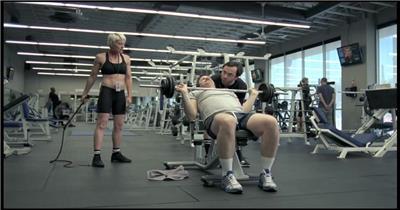 Hardee's Colombian咖啡广告健身房篇.1080p 欧美高清广告视频
