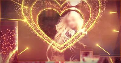 爱的专属妇女节主题视频片头模板