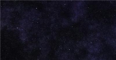 超炫星空粒子银河流星动态素材004 视频背景
