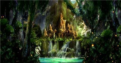 梦幻童话森林 款A00123梦幻童话森林无音乐