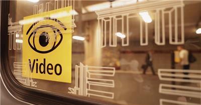 德国地铁交通运输城市旅游高清宣传视频