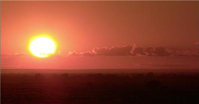 日出和宇宙素材日出 视频素材下载