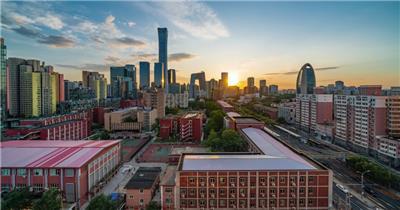 奇景北京国贸延时