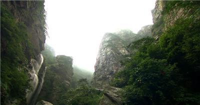 117-庐山三叠泉风光_batch中国高清实拍素材宣传片
