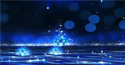 唯美梦幻 款A1511许愿瓶粒子流星唯美梦幻无音乐_batch led视频背景下载