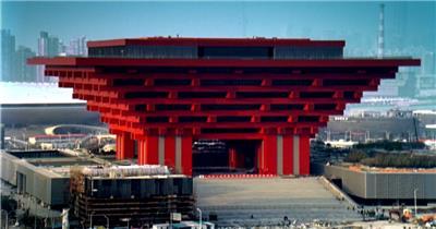 086-世博场馆外观一组(开幕之前的)_batch中国高清实拍素材宣传片