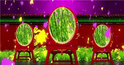 民族民歌中国梦背景视频 中国风视频 背景视频