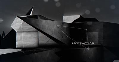 AE:几何抽象变换特效动画 AE模板文件16