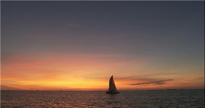 海上帆船2大海 海边 海洋