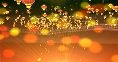灯笼红色喜庆 春节春节 新年 新春佳节 过年