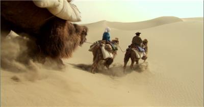 0309-沙漠骆驼队1交通 运输