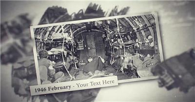 12476 复古照片相册回忆视频片头 特效素材 AE模板资源站 片头ae素材
