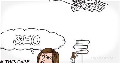 AE:白板上手绘动画建筑金融业务介绍模板 AE文件 ae素材免费下载14