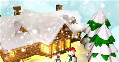 YM4841圣诞球素材节日庆典视频 庆祝视频节日视频