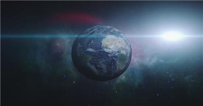 高清视频素材 宇宙中的地球个EarthZoomInHIPSTER