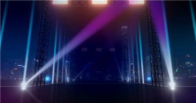 舞台开场灯光秀 舞台灯光秀 酒吧视频
