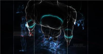 医疗类医学医院类JB_HD_V03D1D_V2055_JB_HD 视频动态背景 虚拟背景视频
