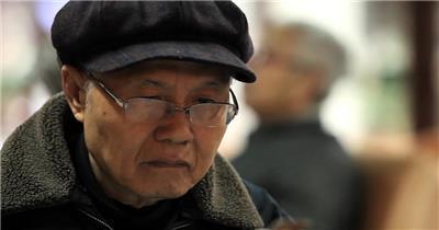 老人老年人17 人物视频 人物实拍