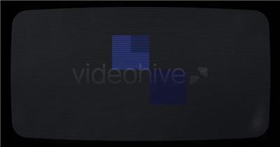 9841 老电脑屏幕开始Logo动画 ae素材ae模版