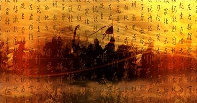 YM3916(有音效) 古代战争系列 视频动态背景 虚拟背景视频