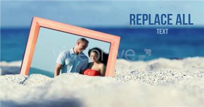 AE:夏日海滩图片展示模板 AE文件 ae素材免费下载14