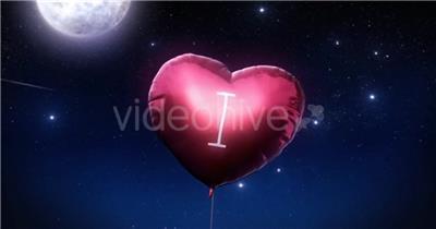 AE:2可爱心型气球生日快乐ae视频素材 ae特效素材 AE模板 18