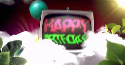 生日快乐08节日庆典视频 庆祝视频节日视频 节日庆典
