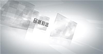 edius玻璃材质商务企业推广介绍宣传模板 edius模板免费下载 edius源文件