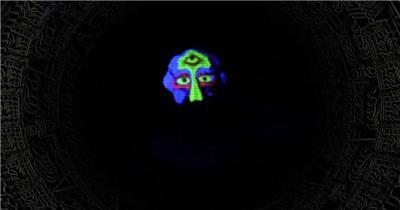 A270-RNB说唱荧光面具舞蹈 酒吧夜店 酒吧视频 dj舞曲 夜店视频