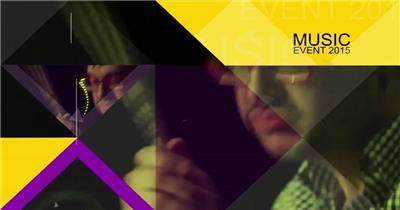 AE:音乐聚会晚会包装模板 ae特效素材15