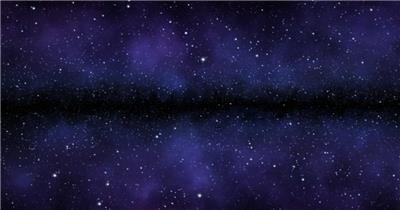 超炫星空粒子银河流星动态素材013 视频背景