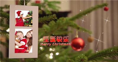 ED圣诞家庭纪念相册 EDIUS模板 圣诞节 EDIUS素材 节日模版