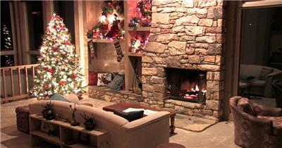 圣诞节 (22) 圣诞节动态视频节日庆典视频 庆祝视频节日视频 节日庆典