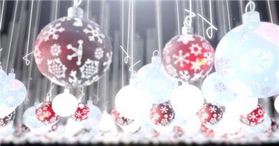 ED圣诞节空间主题效果 EDIUS模板 圣诞节 EDIUS素材 节日模版