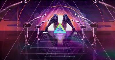 动感影视素材VJ素材酒吧演绎+舞台背景 酒吧视频 dj舞曲 夜店视频