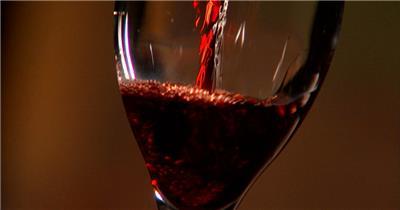 0401-倒红酒中国实拍视频素材 视频下载中国实拍
