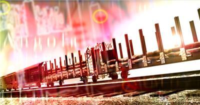 企业时间金融10 视频动态背景 虚拟背景视频