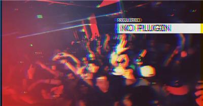 AE:9火热聚会晚会视频展示AE素材模板18