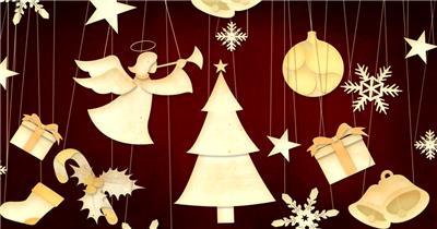 圣诞节 (5) 圣诞节动态视频节日庆典视频 庆祝视频节日视频 节日庆典