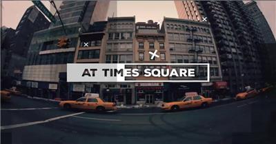 AE:城市片头 AE模板文件16 ae片头ae模板 片头视频素材 视频片头 片头素材