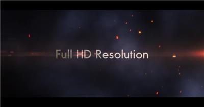 AE:史诗影视预告片 AE模板文件16 大气 电影特效ae素材