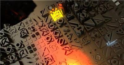 10717 科幻高科技片头 ae素材下载 AE模板
