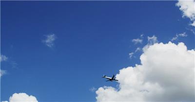 蓝天飞机飞过 公司宣传片 企业宣传片