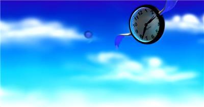 企业时间金融14 视频动态背景 虚拟背景视频