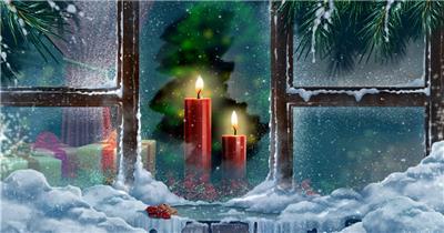 圣诞节 (1) 圣诞节动态视频节日庆典视频 庆祝视频节日视频 节日庆典