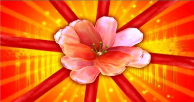 YM1026欢聚一堂春节喜庆背景(含音乐)喜庆 灯笼 大鼓 龙凤春节 新年 新春佳节 过年