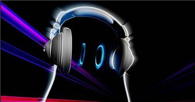 dj_headphones_2_hd酒吧娱乐夜场素材 酒吧视频 dj舞曲 夜店视频