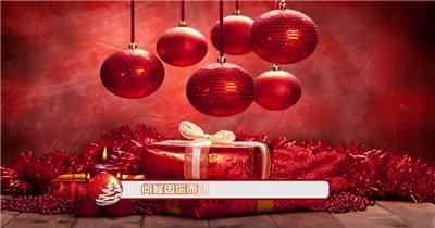 ED圣诞彩球装饰字幕导条 EDIUS模板 圣诞节 EDIUS素材 节日模版
