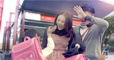 房地产地铁购物温馨生活高清实拍视频素材 公司宣传片 企业宣传片